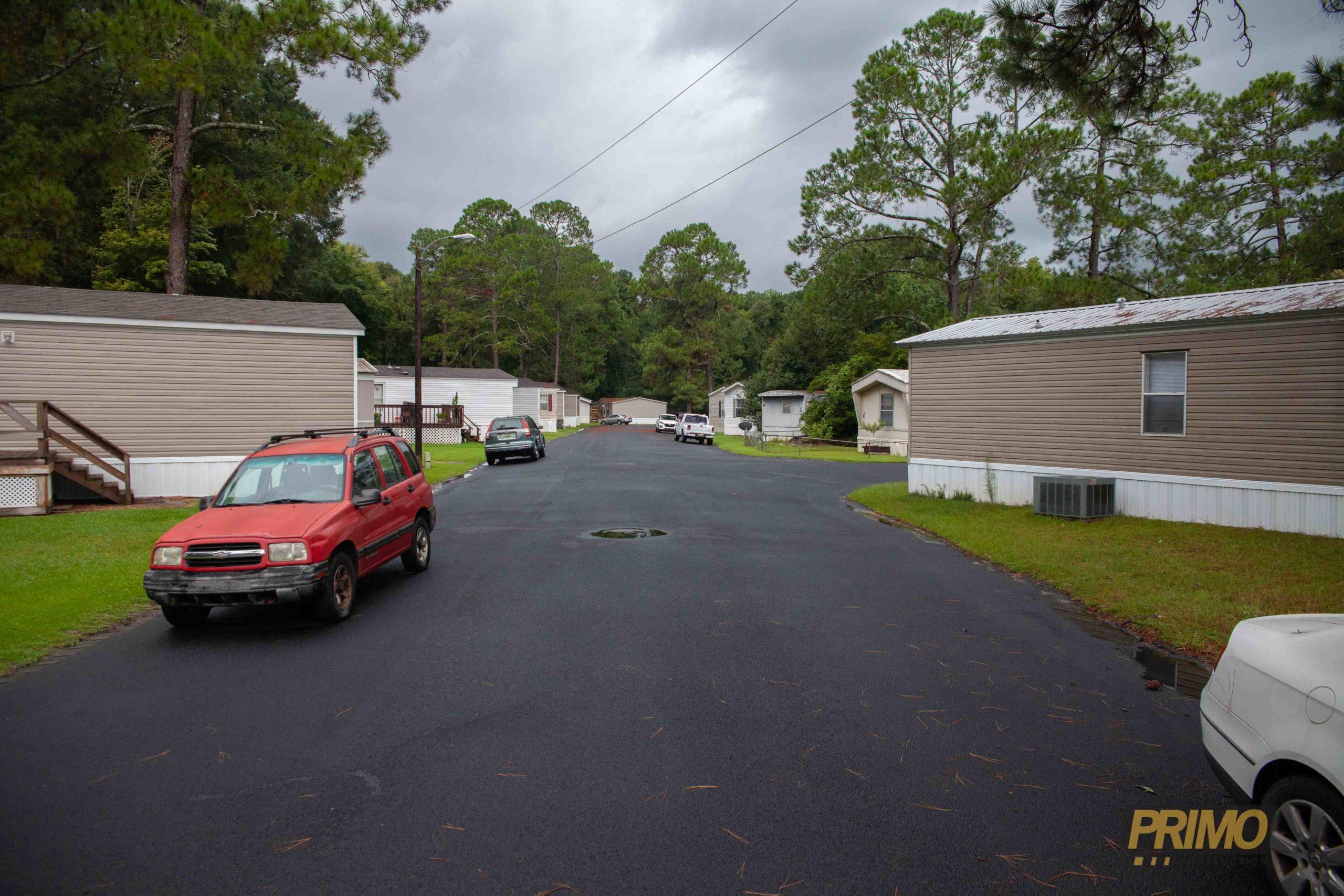 parking lot asphalt repair